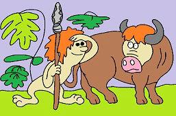 Hombre y el toro