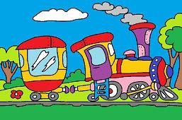 Tren hermosa