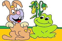 Conejito y rana