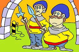 Guardianes del castillo