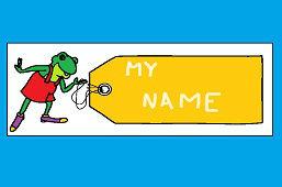 Etiqueta de niños – Franchute