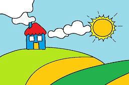 Casa en la colina