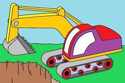 Excavadora pesada
