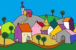 Un pequeño pueblo